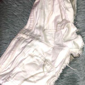 Bullhead Shorts - White short shorts